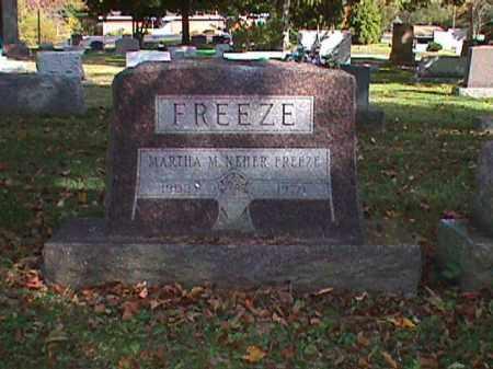 FREEZE, MARTHA MAY - Clark County, Ohio | MARTHA MAY FREEZE - Ohio Gravestone Photos