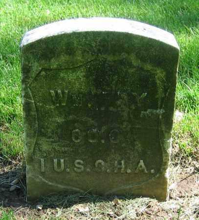 FRY, WM. - Clark County, Ohio   WM. FRY - Ohio Gravestone Photos