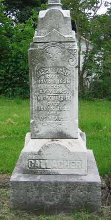 GALLAGHER, JAS. - Clark County, Ohio | JAS. GALLAGHER - Ohio Gravestone Photos