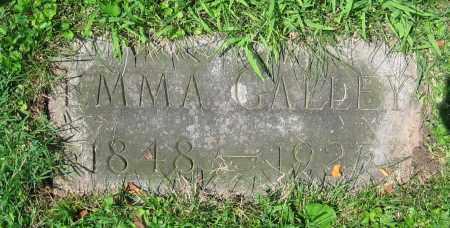 GALLEY, EMMA - Clark County, Ohio | EMMA GALLEY - Ohio Gravestone Photos