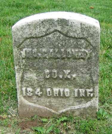 GALLOWAY, JNO. - Clark County, Ohio | JNO. GALLOWAY - Ohio Gravestone Photos