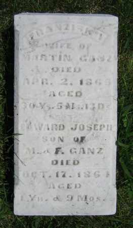 GANZ, EDWARD JOSEPH - Clark County, Ohio | EDWARD JOSEPH GANZ - Ohio Gravestone Photos