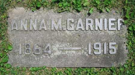 GARNIER, ANNA M. - Clark County, Ohio | ANNA M. GARNIER - Ohio Gravestone Photos