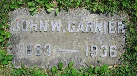 GARNIER, JOHN W. - Clark County, Ohio   JOHN W. GARNIER - Ohio Gravestone Photos