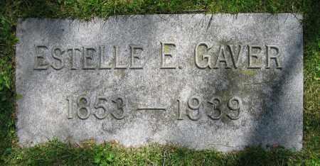 GAVER, ESTELLE E. - Clark County, Ohio | ESTELLE E. GAVER - Ohio Gravestone Photos