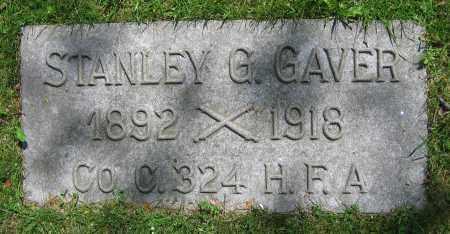 GAVER, STANLEY G. - Clark County, Ohio | STANLEY G. GAVER - Ohio Gravestone Photos
