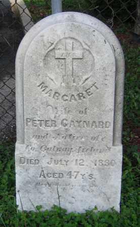 GAYNARD, MARGARET - Clark County, Ohio   MARGARET GAYNARD - Ohio Gravestone Photos
