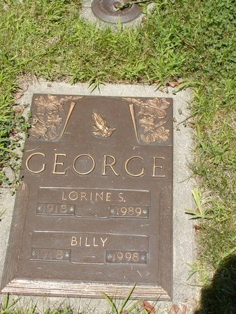 GEORGE, BILLY - Clark County, Ohio | BILLY GEORGE - Ohio Gravestone Photos