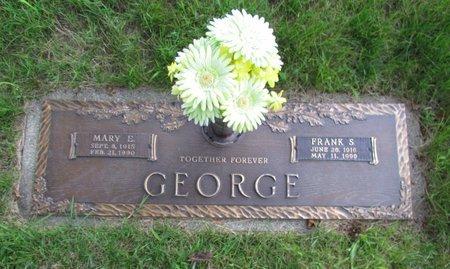 GEORGE, MARY E - Clark County, Ohio | MARY E GEORGE - Ohio Gravestone Photos