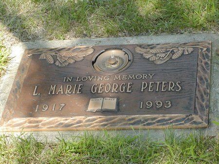 CRAWFORD GEORGE, MARIE - Clark County, Ohio | MARIE CRAWFORD GEORGE - Ohio Gravestone Photos