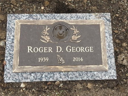 GEORGE, ROGER D - Clark County, Ohio | ROGER D GEORGE - Ohio Gravestone Photos