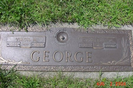 MIGLEY GEORGE, CATHERINE - Clark County, Ohio | CATHERINE MIGLEY GEORGE - Ohio Gravestone Photos