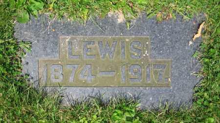 GERON, LEWIS - Clark County, Ohio | LEWIS GERON - Ohio Gravestone Photos