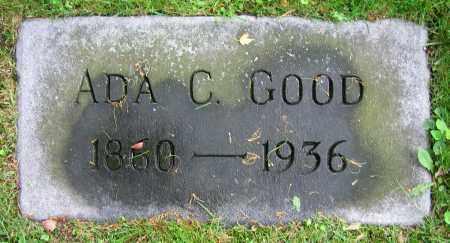 GOOD, ADA C. - Clark County, Ohio   ADA C. GOOD - Ohio Gravestone Photos