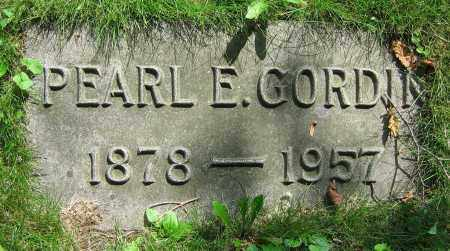 GORDIN, PEARL E. - Clark County, Ohio | PEARL E. GORDIN - Ohio Gravestone Photos