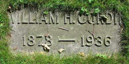 GORDIN, WILLIAM H. - Clark County, Ohio   WILLIAM H. GORDIN - Ohio Gravestone Photos