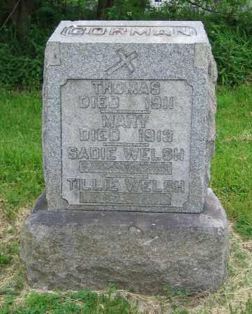 WELSH, TILLIE - Clark County, Ohio | TILLIE WELSH - Ohio Gravestone Photos