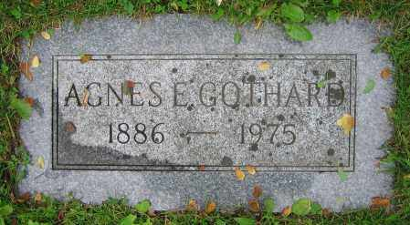 GOTHARD, AGNES E. - Clark County, Ohio   AGNES E. GOTHARD - Ohio Gravestone Photos