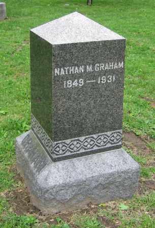 GRAHAM, NATHAN M. - Clark County, Ohio | NATHAN M. GRAHAM - Ohio Gravestone Photos