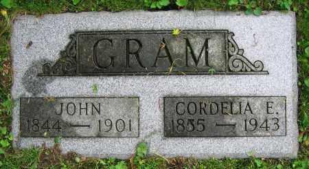 GRAM, JOHN - Clark County, Ohio | JOHN GRAM - Ohio Gravestone Photos