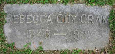 GUY GRAM, REBECCA - Clark County, Ohio | REBECCA GUY GRAM - Ohio Gravestone Photos