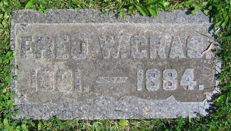 GRAS, FRED W. - Clark County, Ohio | FRED W. GRAS - Ohio Gravestone Photos