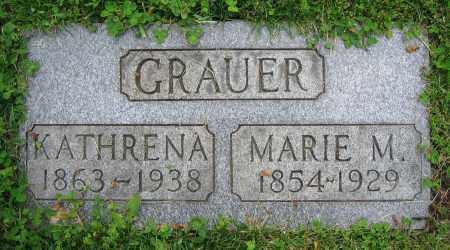 GRAUER, MARIE M. - Clark County, Ohio | MARIE M. GRAUER - Ohio Gravestone Photos
