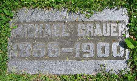 GRAUER, MICHAEL - Clark County, Ohio   MICHAEL GRAUER - Ohio Gravestone Photos