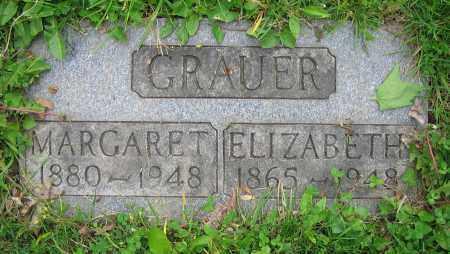 GRAUER, ELIZABETH - Clark County, Ohio | ELIZABETH GRAUER - Ohio Gravestone Photos