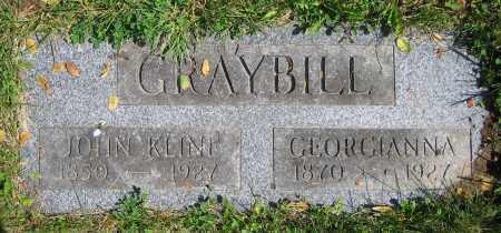 GRAYBILL, JOHN KLINE - Clark County, Ohio | JOHN KLINE GRAYBILL - Ohio Gravestone Photos
