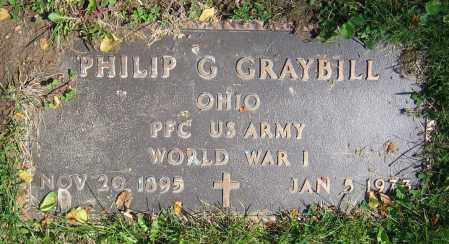 GRAYBILL, PHILIP G. - Clark County, Ohio | PHILIP G. GRAYBILL - Ohio Gravestone Photos