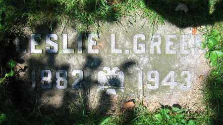 GREEN, LESLIE L. - Clark County, Ohio | LESLIE L. GREEN - Ohio Gravestone Photos