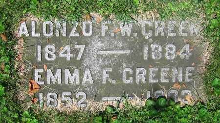 GREENE, EMMA F. - Clark County, Ohio | EMMA F. GREENE - Ohio Gravestone Photos