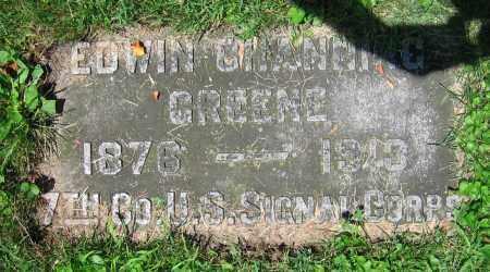 GREENE, EDWIN CHANNING - Clark County, Ohio | EDWIN CHANNING GREENE - Ohio Gravestone Photos