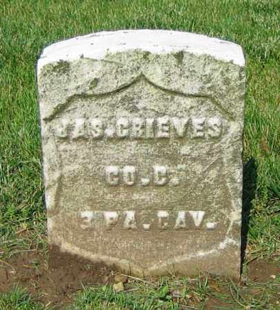 GRIEVES, JAS. - Clark County, Ohio | JAS. GRIEVES - Ohio Gravestone Photos