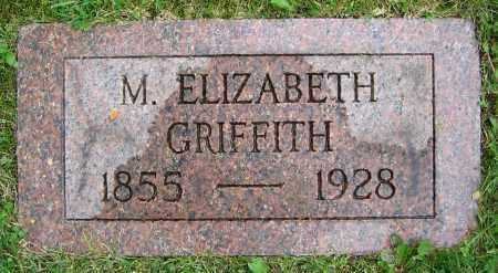 GRIFFITH, M. ELIZABETH - Clark County, Ohio | M. ELIZABETH GRIFFITH - Ohio Gravestone Photos