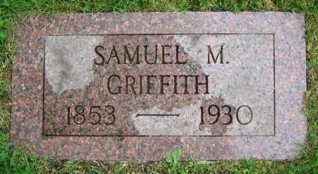GRIFFITH, SAMUEL M. - Clark County, Ohio | SAMUEL M. GRIFFITH - Ohio Gravestone Photos