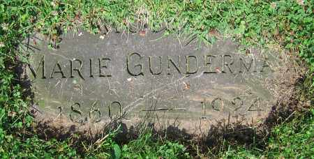 GUNDERMAN, MARIE - Clark County, Ohio | MARIE GUNDERMAN - Ohio Gravestone Photos