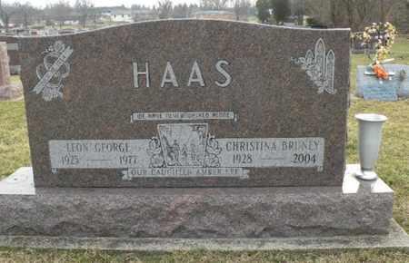 BRUNEY HAAS, CHRISTINA - Clark County, Ohio | CHRISTINA BRUNEY HAAS - Ohio Gravestone Photos