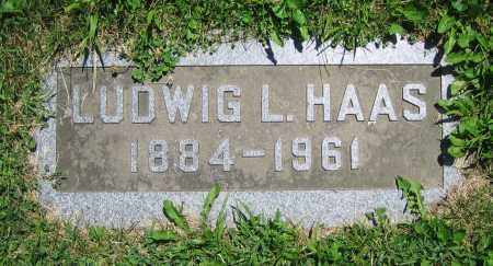 HAAS, LUDWIG L. - Clark County, Ohio | LUDWIG L. HAAS - Ohio Gravestone Photos