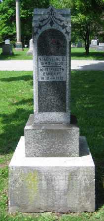 BANGART, M. ELIZABETH - Clark County, Ohio | M. ELIZABETH BANGART - Ohio Gravestone Photos