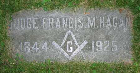 HAGAN, FRANCIS M.  JUDGE - Clark County, Ohio | FRANCIS M.  JUDGE HAGAN - Ohio Gravestone Photos