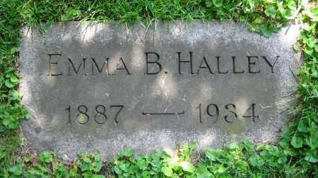 HALLEY, EMMA B. - Clark County, Ohio   EMMA B. HALLEY - Ohio Gravestone Photos