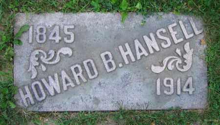 HANSELL, HOWARD B. - Clark County, Ohio | HOWARD B. HANSELL - Ohio Gravestone Photos