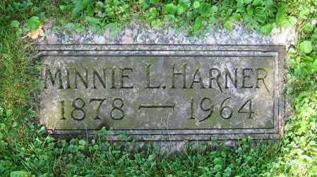 HARNER, MINNIE L. - Clark County, Ohio | MINNIE L. HARNER - Ohio Gravestone Photos