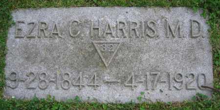 HARRIS, EZRA C.  M.D. - Clark County, Ohio   EZRA C.  M.D. HARRIS - Ohio Gravestone Photos
