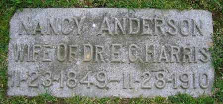 HARRIS, NANCY - Clark County, Ohio | NANCY HARRIS - Ohio Gravestone Photos