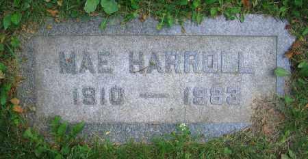 HARROLL, MAE - Clark County, Ohio | MAE HARROLL - Ohio Gravestone Photos