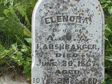 HARSHBARGER, ELENORA - Clark County, Ohio | ELENORA HARSHBARGER - Ohio Gravestone Photos