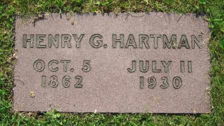 HARTMAN, HENRY G. - Clark County, Ohio   HENRY G. HARTMAN - Ohio Gravestone Photos